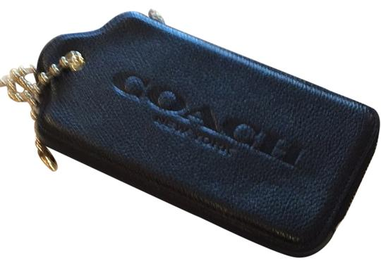 Coach Coach leather hangtag multifunction case.