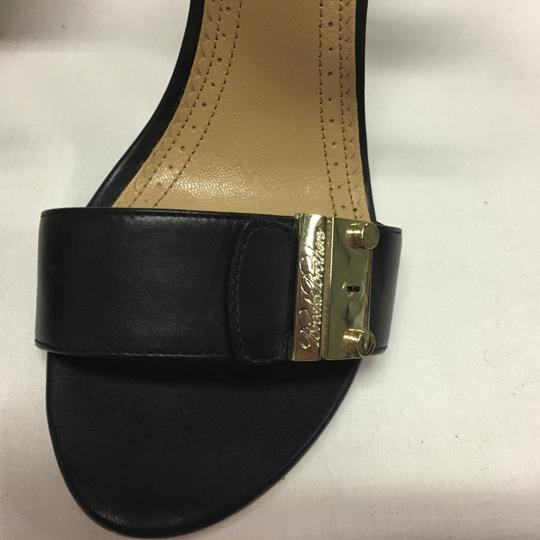Brooks Brothers Black Sandals