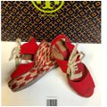 Tory Burch Price Reduced / Red Linley Wedges Size US 7 Regular (M, B) Tory Burch Price Reduced / Red Linley Wedges Size US 7 Regular (M, B) Image 11
