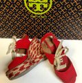 Tory Burch Price Reduced / Red Linley Wedges Size US 7 Regular (M, B) Tory Burch Price Reduced / Red Linley Wedges Size US 7 Regular (M, B) Image 7