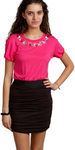 Juicy Couture short dress pink/black on Tradesy