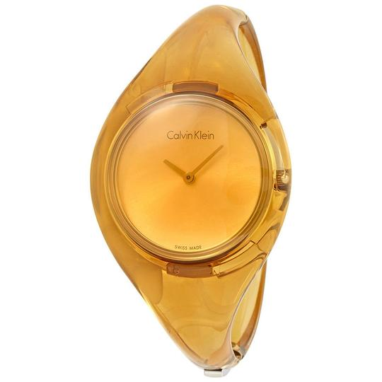 Preload https://img-static.tradesy.com/item/23351118/calvin-klein-gold-medium-bangle-ladies-watch-0-0-540-540.jpg