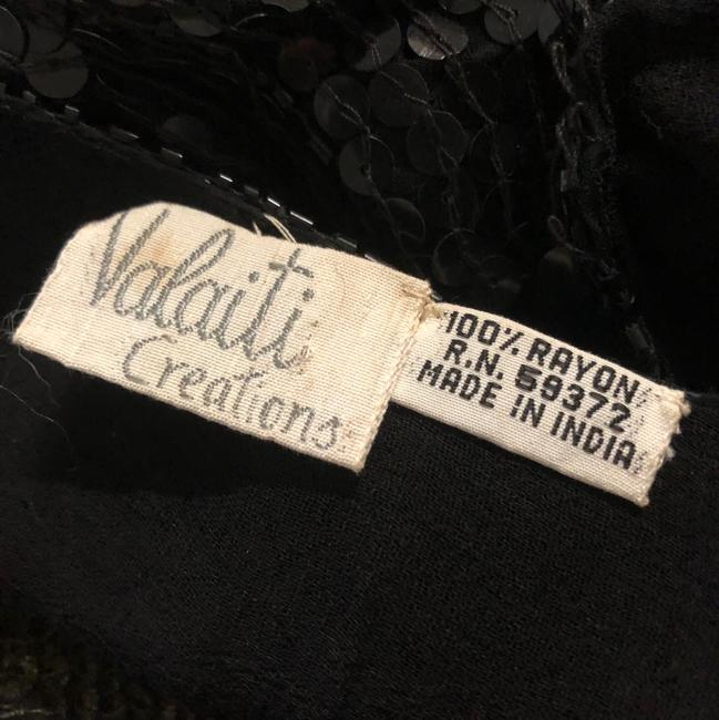Valaiti Creations Top black and gold