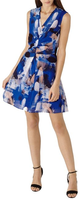 Preload https://img-static.tradesy.com/item/23351275/reiss-blue-nieve-serpentine-printed-short-casual-dress-size-10-m-0-1-650-650.jpg