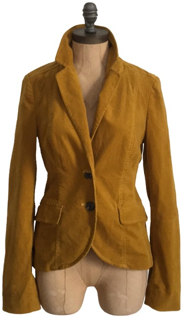 Item - Yellow Daughters Of The Liberation Velvet Blazer Size 0 (XS)