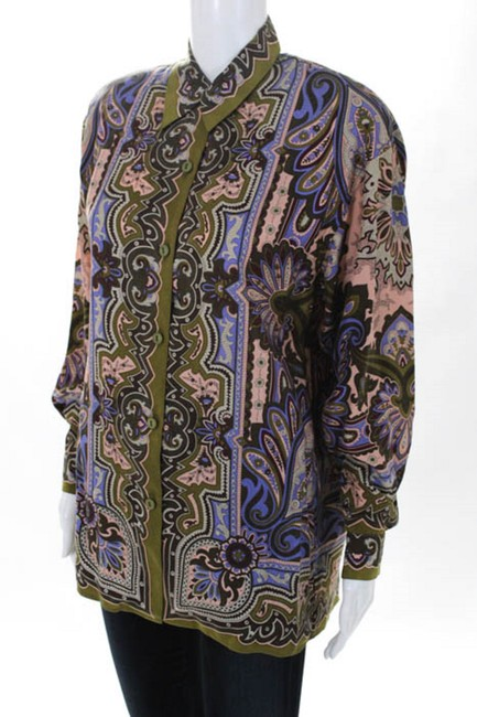 cotton square Bell Sleeves Lace Trim Lined Banded Waist Raw Edges Top multi