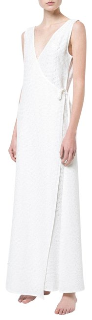 Item - White (Nwt) Grace Maxi Wrap Cover-up/Sarong Size 4 (S)