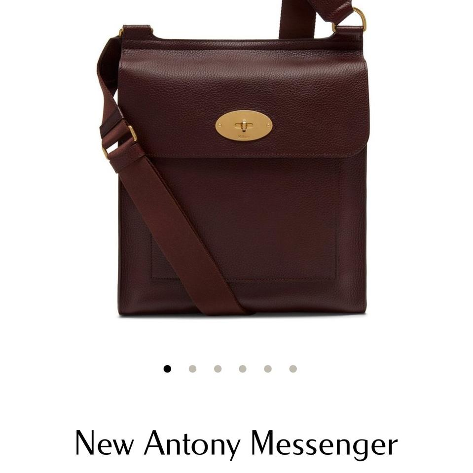 Mulberry Antony Oxblood Red Leather Messenger Bag - Tradesy ccd26039a4c76