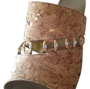 Other Gold, Crystal, and Cork Mules