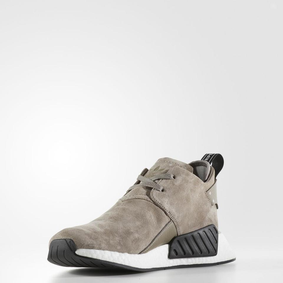 adidas Suede Light Brown Nmd C2 Sneakers Size US 8 Regular (M dcf4740d7