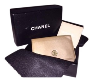 Chanel Authentic CHANEL Key Holder Case CoCo Leather Used