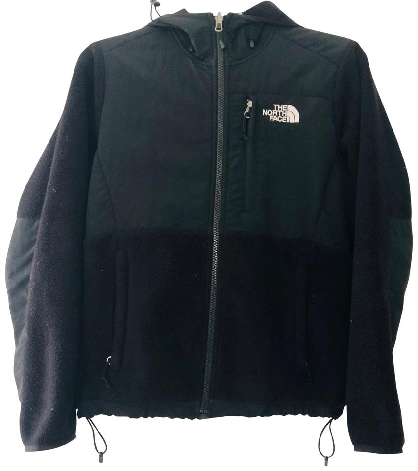 15b1e5014 The North Face Black W Denali Jacket (W/ Hood) Activewear Size 0 (XS) 62%  off retail