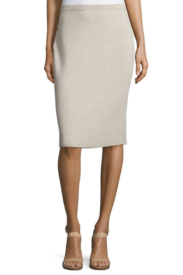 32e69e1707a Eileen Fisher Seasalt Icons Washable Wool Crepe Pencil Skirt Size 26 ...