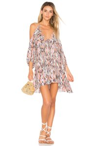Free People short dress Pink Cold Shoulder on Tradesy
