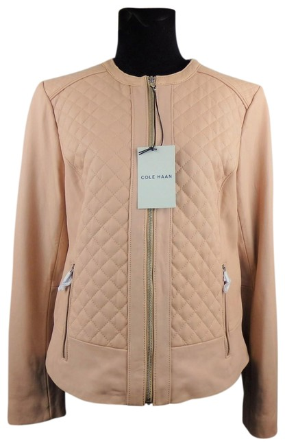 Item - Blush Quilted Jacket Size 12 (L)