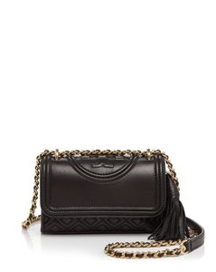 Tory Burch Leather Fleming Cross Body Bag