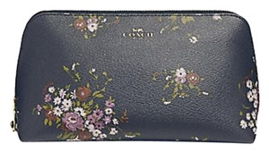 Coach Coach COSMETIC CASE 22 WITH FLORAL BUNDLE PRINT AND BOW ZIP PULL 29366