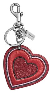 Coach Coach LIMITED EDITION PRETTY PRAIRIE HEART BAG CHARM F26896