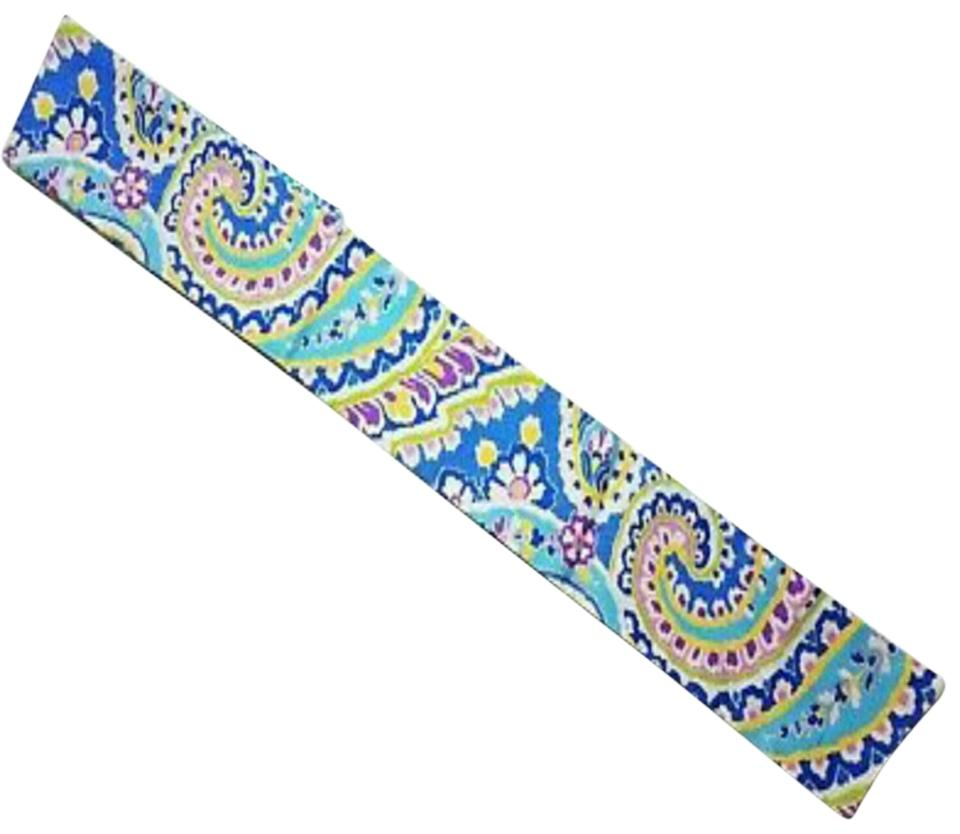 536243bea81a Vera Bradley Multi-color Retired Capri Blue Sash Scarf Wrap - Tradesy