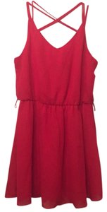 by&by short dress Red on Tradesy