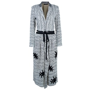 Roland Mouret Monochrom Tweed Skirt Suit M