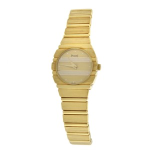 Piaget Authentic Ladies Piaget Polo 861 C701 Quartz 18K Yellow Gold 23MM