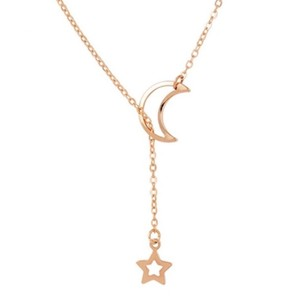 Rebecca Minkoff Gold Moon & Star Necklace