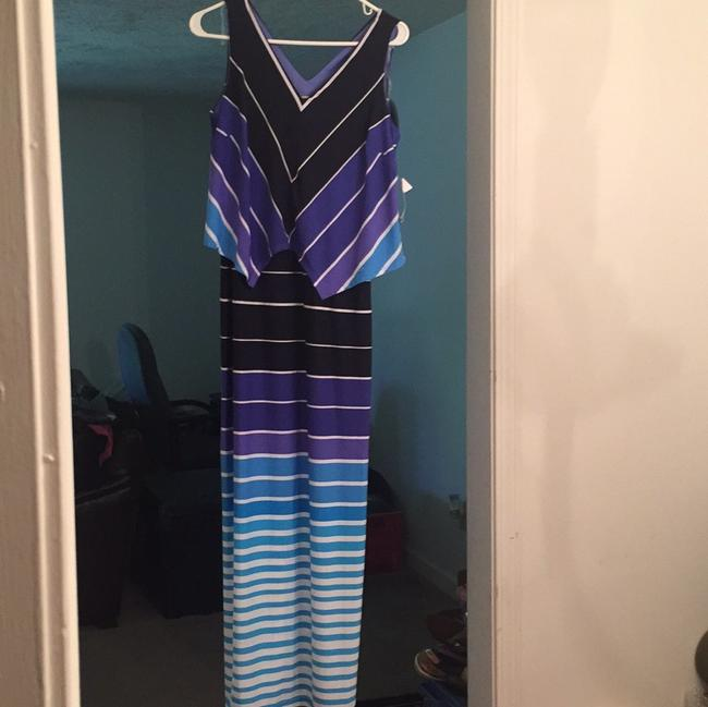 Robbie Bee (Gt) Long Casual Maxi Dress Size 6 (S) Robbie Bee (Gt) Long Casual Maxi Dress Size 6 (S) Image 1