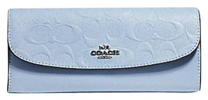 Coach COACH SOFT WALLET IN SIGNATURE LEATHER F26460