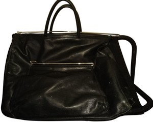Renato Angi Black Travel Bag