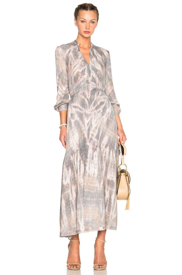 Maxi Dress By Raquel Allegra Tie Dye