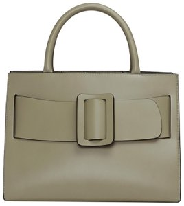 Boyy Bobby Satchel Beige Olive Tote in Sage Green Convertible