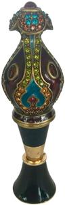 Jay Strongwater JAY STRONGWATER JEWELED WINE STOPPER AND STAND