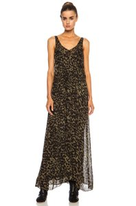 Maxi Dress by Étoile Isabel Marant Leopard Chiffon Maxi
