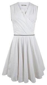 AllSaints short dress White Skater Spitallfields on Tradesy