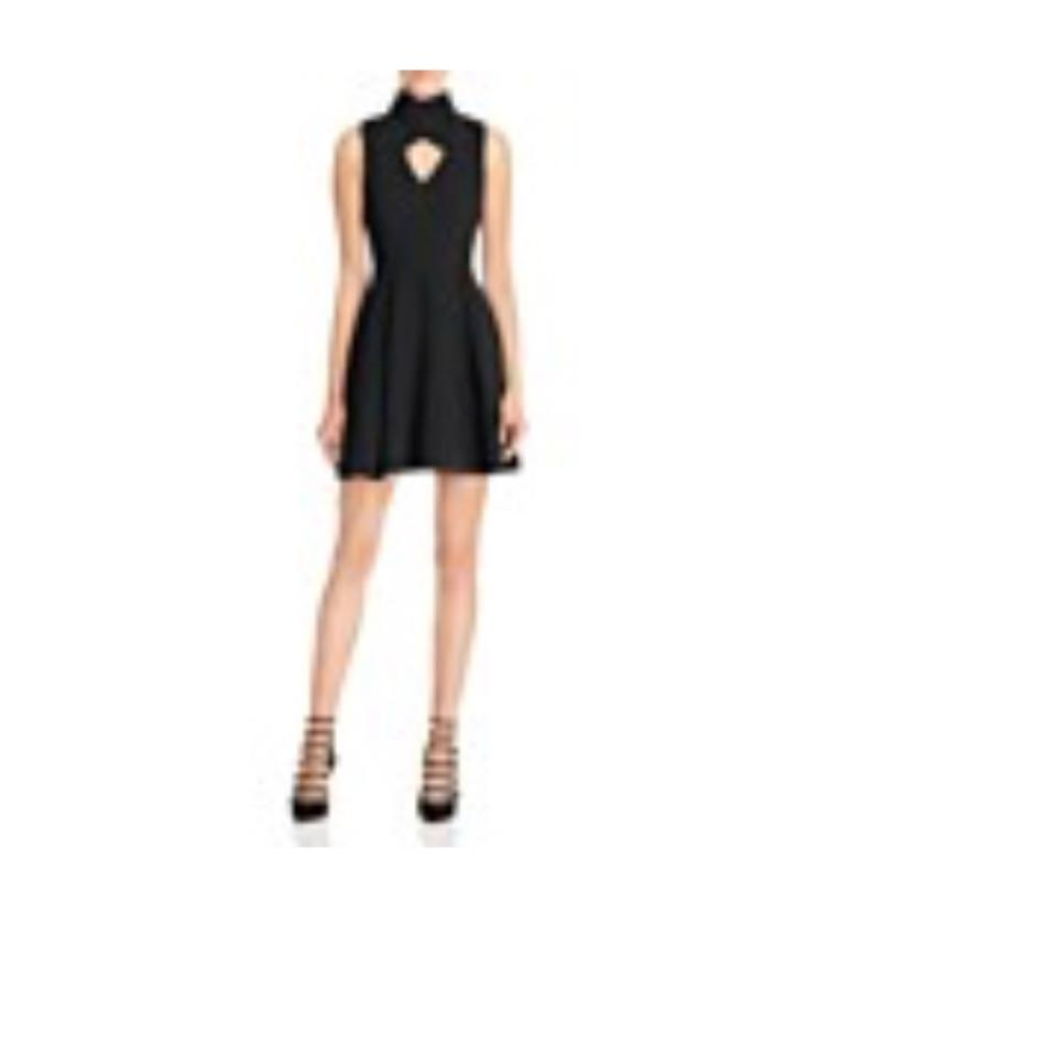 Bloomingdale S Black Short Cocktail Dress Size 8 M Tradesy