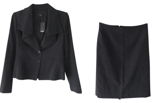 Item - Heather Charcoal Gray Skirt Suit Size 4 (S)