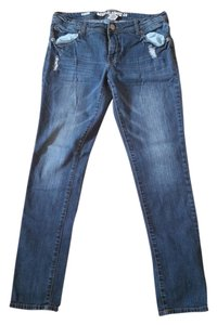 Mossimo Supply Co. Skinny Jeans-Distressed