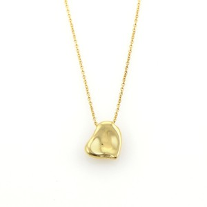 Tiffany & Co. Elsa Peretti Full Heart 18k Yellow Gold Necklace