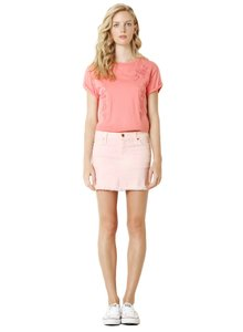 James Jeans Mini Skirt Snob Pink