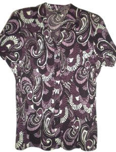 East 5th Essentials Button Front Short Sleeve Button Down Shirt Multi-Color