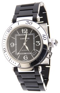 Cartier Cartier Pasha Seatimer Automatic Date Stainless Steel 40.5mm Watch & B