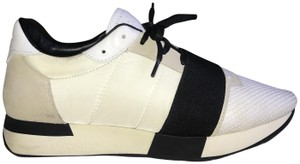 Balenciaga Sneakers Cream/Black Athletic