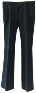 See by Chloé Work Appropriate All Season Chic Trousers Boot Cut Pants Dark green