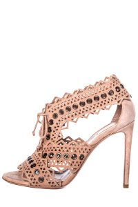 ALAÏA Blush Sandals