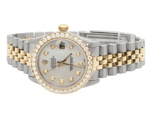 Rolex Ladies Datejust Two Tone 78273 18K/ Steel 31MM Diamond 3.0 Ct