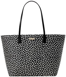 Kate Spade New York Margareta Tote in Black/White