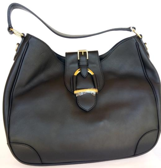 Ralph Lauren Leather Luxury Handbag Hobo Bag