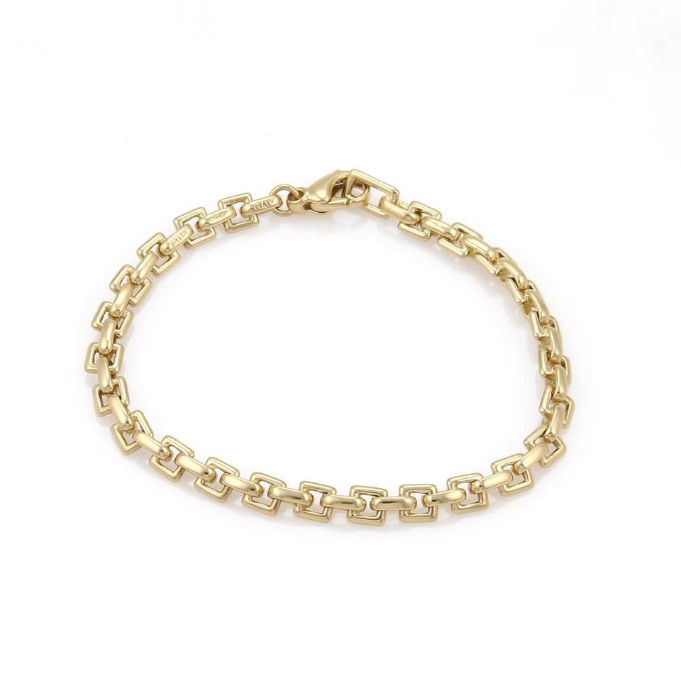 b6f51b13b19ca Tiffany & Co. 18k Yellow Gold Square Link Chain 7