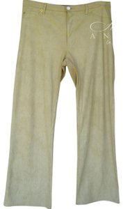 Roccobarocco Vintage Coated Straight Leg Jeans